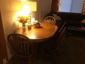 Kitchen Table and Chair Set for Sale in Columbus, OH