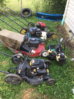 lawnmowers and weed eaters for Sale in Columbus, OH