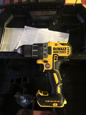 Dewalt 20V XR Drill / Driver with Case Tool Only $50 Firm No Less / Es Lo Menos for Sale in Chino, CA