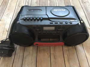 Sony CFD-980 CD/Cassette/Radio Boombox Water Resistant for Sale in Temecula, CA
