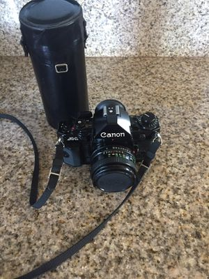 Canon A-1 35 mm film camera for Sale in Spring Valley, CA