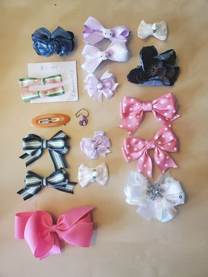 Assorted Bows for Girls! for Sale in Fairfax, VA