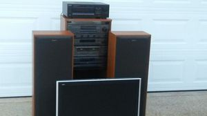 Complete Sony stereo, Sony receiver and Panasonic flatscreen for Sale in Millbrook, AL