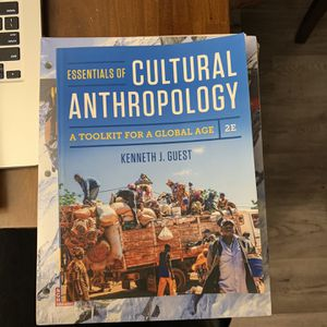 Essentials of Cultural Anthropology A Toolkit For A Global Age for Sale in Fresno, CA
