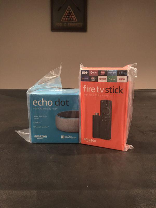 Amazon echo and fire tv stick bundle