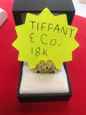 18k Tiffany & Co. wave ring 2910-136008365F-01 for Sale in Phoenix, AZ