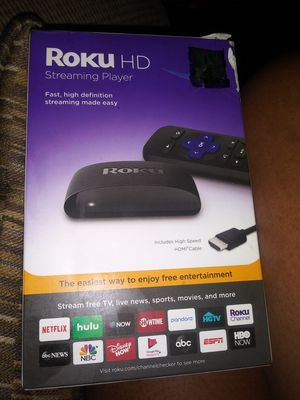Roku Hd Streaming Device for Sale in Augusta, GA