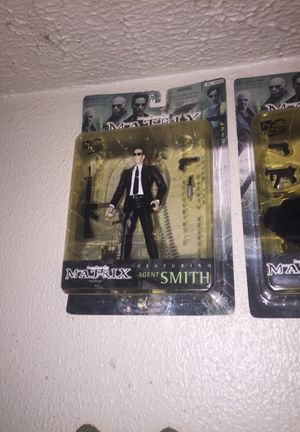 Complete set of matrix action figures! for Sale in Houston, TX