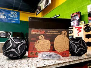 "New SSV Works Universal Cage Mount Speaker Pods w/ Speakers & 1.75"" Dual Clamps UTV for Sale in Phoenix, AZ"