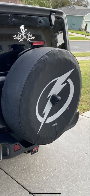 2018-2020 JL tire cover for Sale in Lutz, FL