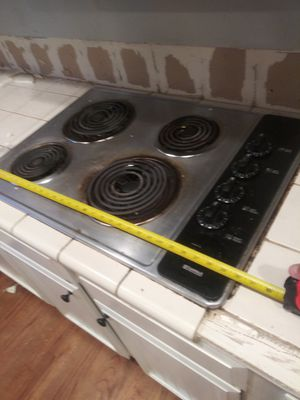 """30"""" electric cooktop works great for Sale in Edgewood, WA"""
