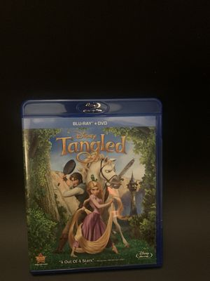Tangled Blu-ray Disney for Sale in Glendora, CA