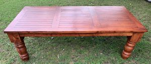 4x8' Solid wood dining table for Sale in Glenpool, OK