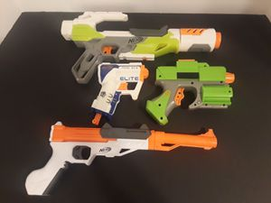NERF Gun Toy Mixed Lot 4 Pieces. for Sale in Houston, TX