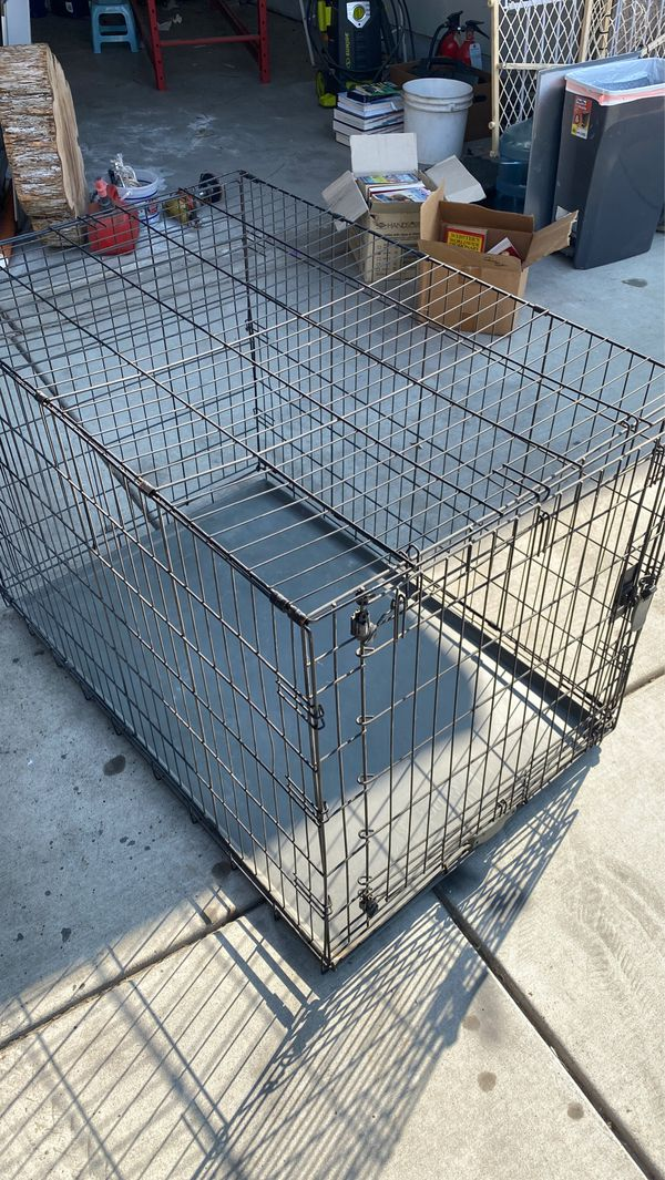 X-Large Crate. 1-Door Folding Dog Crate X-Large