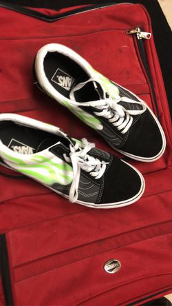 Green flame vans for Sale in Normal,  IL