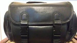 Sony leather camera carrying case for Sale in Austin, TX