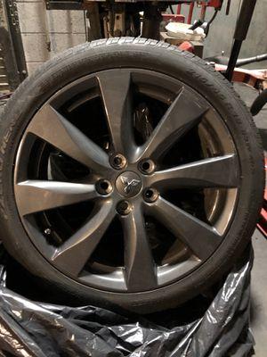 "3 x 18"" 2015 Mitsubishi Lancer Ralliart Dark Alloy Wheels for Sale in Fort Belvoir, VA"