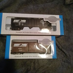 Bachmann silver series premium HO scale silver series Rolling Stock for Sale in Charlotte, NC