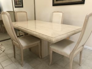 3 piece solid Italian stone set for Sale in West Palm Beach, FL