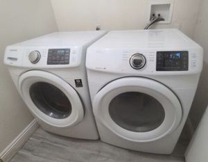 Samsung Washer and Dryer Gas Steam Sensor, Excellent Working Condition, Very Clean Like New for Sale in Walnut, CA