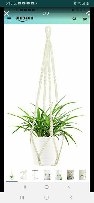 MACRAMÉ HANGING PLANT for Sale in Bakersfield, CA
