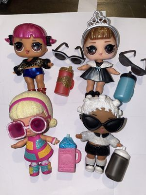 Lol Dolls lot of 4 for Sale in Portland, OR