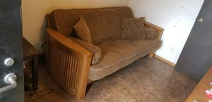 Futon - Solid Wood Frame for Sale in Lakeside, CA