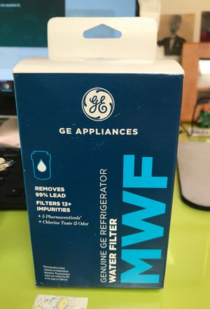 GE refrigerator MWF Water Filter-wrapped & unused for Sale in Santa Monica, CA