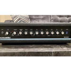 Acoustic B300H 300 Watt Bass Head for Sale in Manalapan Township, NJ