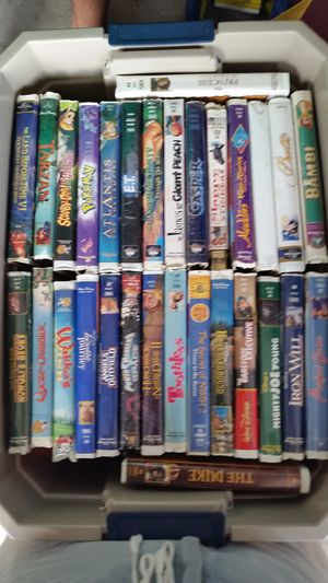 VHS movies for Sale in Kissimmee, FL