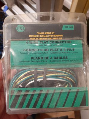 4 wire trailer connector for Sale in Massillon, OH