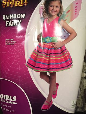 Rainbow Fairy Halloween Costume size 4-6 for Sale in Naperville, IL