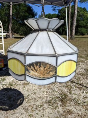 Tiffany Styled Ceiling Lamp. for Sale in Cape Coral, FL