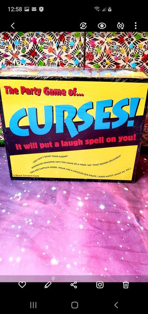 The Party Game of... Curses! Game for Sale in Santa Ana, CA