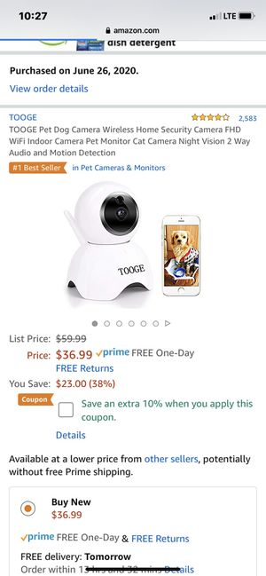 Brand new dog camera for Sale in Tualatin, OR