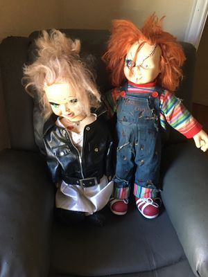 Chuckie and Tiffany dolls for Sale in Fort Worth, TX