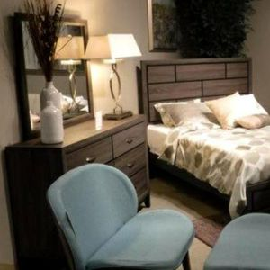 🌈HOT DEAL] Davi Gray Panel Bedroom Set for Sale in Laurel, MD