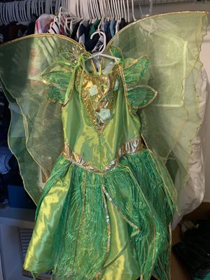 Tinkerbell Costume girls size 7/8 for Sale in Auburn, WA