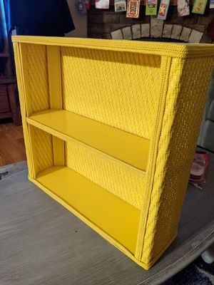 Yellow shelf for Sale in East Bend, NC