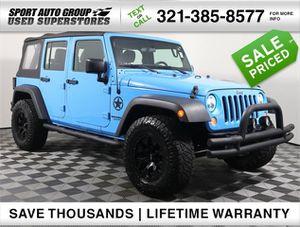 2017 Jeep Wrangler Unlimited for Sale in Orlando, FL