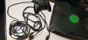 Original Xbox with box for Sale in Fresno, CA