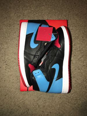 UNC to CHI Jordan 1 sz {link removed} $230 obo (purchased off nike SNKRS app) for Sale in Rio Vista, CA