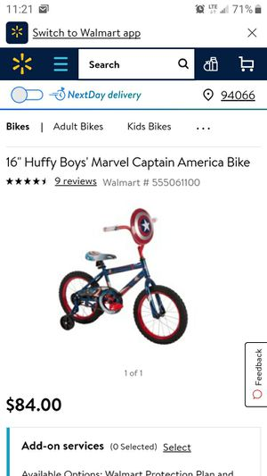 Brand new Captain America bike for Sale in Pittsburgh, PA