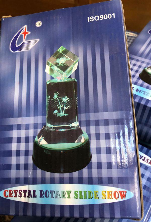 Cristal Rotary slide Show