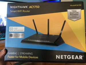 Nighthawk WiFi gaming router for Sale in Los Angeles, CA
