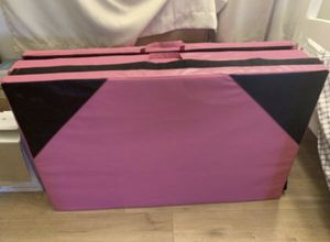 "Gymnastic Mat(Pink&Black)(each pcs size 47""*29""*8.5"") for Sale in La Habra Heights, CA"