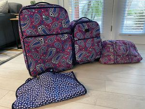 Vera Bradley Luggage, Set of 4 for Sale in Phoenix, AZ