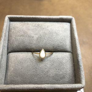 Catbird 14K Gold Opal Teardrop Ring for Sale in Ashburn, VA
