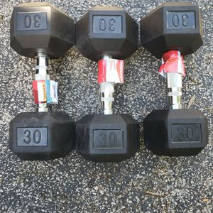 30lb Dumbbells Dumbbell Weights BRAND NEW 💪 for Sale in Fort Lauderdale, FL